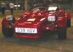 RJH Panels & Sports Cars - Mirach. In the sheds at Stoneleigh