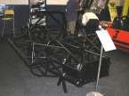 Gardner Douglas Sports Cars - GD T70. Chassis laid bare. Piece of art