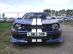 Ride Cars - GTR350. Agressive front on view