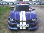 Ride Cars - GTR350. White stripes on blue