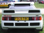 Paul Banham Conversions - RS200. Rear end detailing