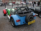 Caterham cars - Super 7. Braced roll cage
