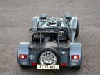 Caterham cars - Super 7. Elevated view of Caterham 7