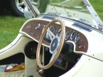 Merlin Sports Cars - Merlin TF. Dash and steering wheel