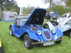 Merlin Sports Cars - Merlin TF. Notice hard top on this Merlin