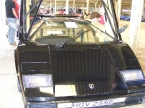Front view of Countach replica