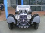 Suffolk Sportscars - SS100. Front view of SS100