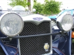 Close up of grille
