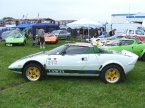 Hawk cars Ltd - HF series. Hawk Stratos on club stand