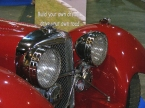 Suffolk Sportscars - SS100. Front grille close up
