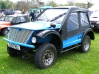 NCF Motors Ltd - Blitz 4x4. Custom front end