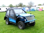 NCF Motors Ltd - Blitz 4x4. Blitz with full weather gear