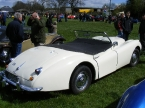 Jag XK140 replica from rear