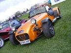 Caterham cars - Superlight R300. 1.8 Litre gives 300bhp/tonne