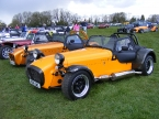 Caterham cars - Superlight R300. In good company at Detling