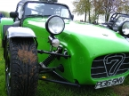 Caterham cars - Super 7. S7 front close up