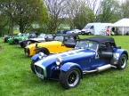 Caterham cars - Super 7. Stoneleigh 2008 OC lineup