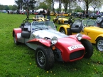 Caterham cars - Super 7. Old school aluminium