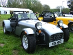 Caterham cars - Super 7. Nice graphite grey Caterham