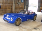 Fisher sportscars - Fury. Fury in the Stoneleigh sheds