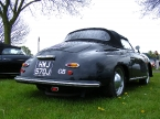 Rear view of 356 Speedster