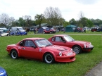 Ginetta - Ginetta G15. Pair of red G15s