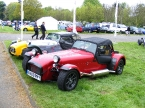 Caterham cars - R400. R400 with weather gear