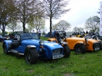 Caterham cars - R400. one with one without