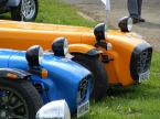 Caterham cars - R400. Frog eyes