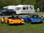 Caterham cars - R400. 2 litre Duratec - 210bhp