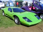 Nova Sports Cars - Nova. Green Nova on club stand