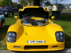Ultima Sports Ltd - Can-Am. Yellow Can-Am front end