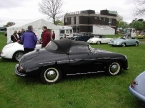 Chesil Motor Company - Speedster. Black Speedster with hood up