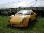 GTM Cars Ltd - Libra. Yellow Libra at Brooklands