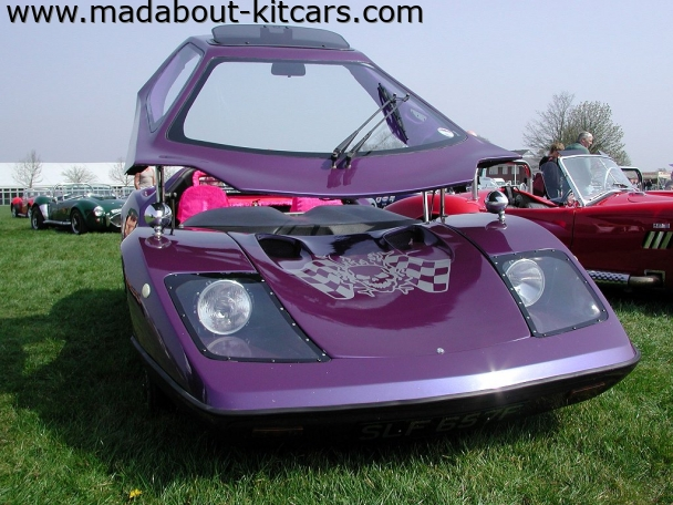 Nova Sports Cars - Nova. Metallic purple Nova