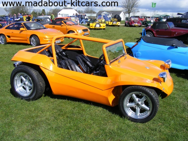 Manxbuggies - Sidewinder. Lovely day at Detling 2008