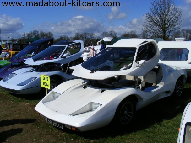 Nova Sports Cars - Nova. At Detling kit car show 2008