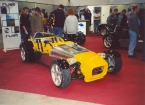 DJ sportscars - Rush. Dax Rush at Stoneleigh 2001
