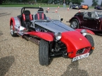 Robin Hood Sports Cars - Project 2B. Nice red and stainless example