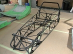 Rush chassis at factory