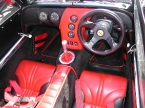 DJ sportscars - Rush. Very nice red black interior