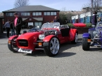 DJ sportscars - Rush. Red Ford Pinto powered Rush
