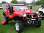 Dakar design and conversions - Dakar 4x4. Red Rotrax