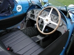 Teal Cars - Type 35. Period interior