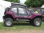 Dakar design and conversions - Dakar 4x4. Side profile shot of Dakar