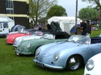 Chesil Motor Company - Speedster. Speedster lineup  on OC pitch