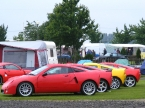 GTM Cars Ltd - Libra. Lineup shot in the rain